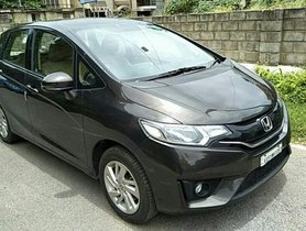 Good as new 2015 Honda Jazz for sale at low price
