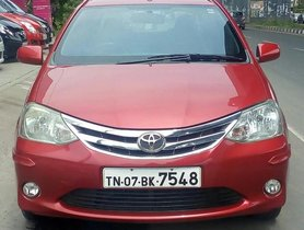 Good as new 2011 Toyota Platinum Etios for sale