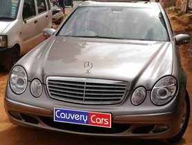 Good 2006 Mercedes Benz E Class for sale at low price in Bangalore