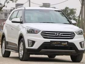 Used Hyundai Creta 1.6 VTVT SX Plus Dual Tone 2015 by owner