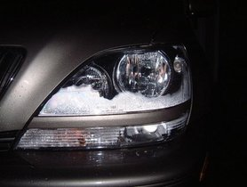 Fastest way to remove moisture from your headlights