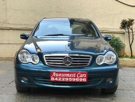 Used Mercedes Benz C Class 200 K Elegance AT 2007 in Mumbai
