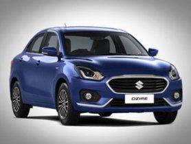 Maruti Suzuki Dzire Surpassed Alto to Become India's Best-Selling Car