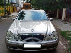 Used 2006 Mercedes Benz E Class car at low price