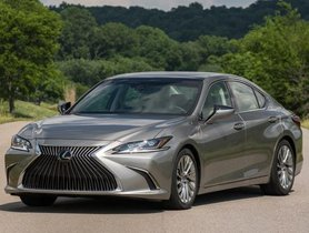All-New Lexus ES 300h Launched in India at Rs 59.13 Lakhs