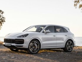 Facelifted Porsche Cayenne to Launch in India on October 17