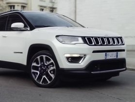 Jeep Compass Black Pack priced from Rs. 20.59 lakh