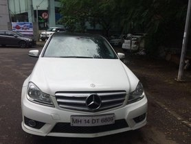 Used 2013 Mercedes Benz C Class car at low price