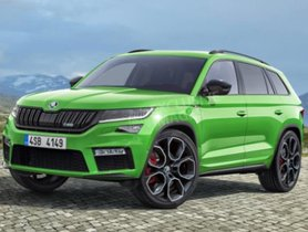 Sketches of Skoda Kodiaq RS Officially Disclosed before Global Debut