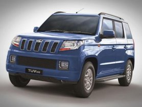 Facelifted Mahindra TUV300 to Launch in 2019