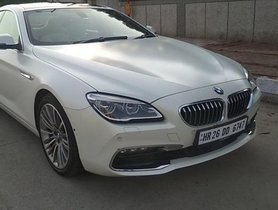 Good as new 2015 BMW 6 Series for sale at low price