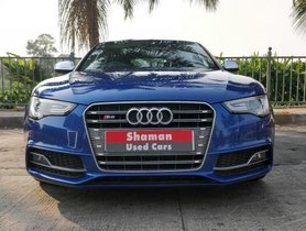 Used 2015 Audi S5 car at low price