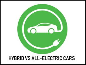 Hybrid vs. All-electric car: What are the differences?