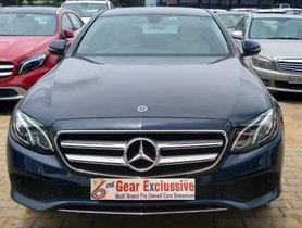 Used 2017 Mercedes Benz E Class for sale in Bangalore