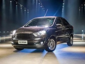 Ford Aspire Facelift 2018 to Open Booking, Ready to Launch in October 4