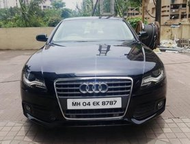 Used Audi A4 2.0 TFSI 2010 in Mumbai