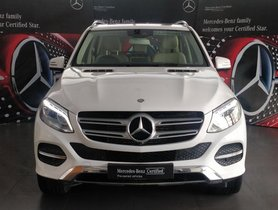 Good as new 2017 Mercedes Benz GLE for sale at low price