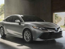 New Toyota Camry Hybrid to Launch in India in 2019