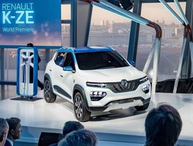 Paris Motor Show 2018: Renault Kwid EV Concept K-ZE unveiled
