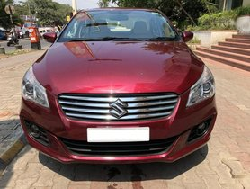 Well-maintained 2017 Maruti Suzuki Ciaz for sale