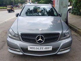 Used 2012 Mercedes Benz C Class for sale at low price