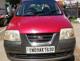 Used Hyundai Santro Xing XG 2005 in Chennai
