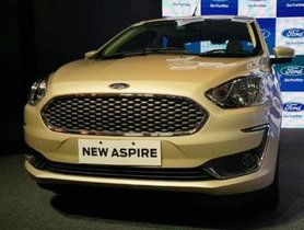 2018 Ford Aspire launched at Rs 5.55 lakh