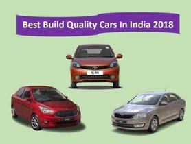 Best build quality cars in India 2018