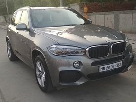 Good as new BMW X5 xDrive 30d M Sport 2017 for sale