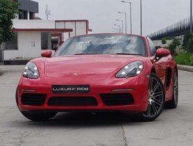 Used 2017  Porsche Boxster car at low price