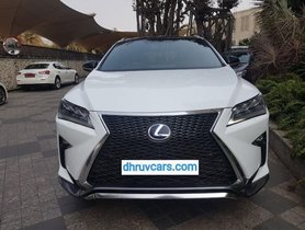 Used 2016 Lexus RX car at low price
