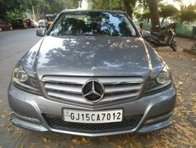 Used 2012 Mercedes Benz C Class car at low price