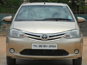 Used 2013 Toyota Platinum Etios car at low price
