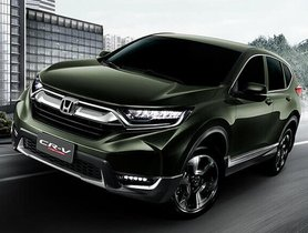 Fifth-gen Honda CR-V 2018 Officially Launched in India Yesterday