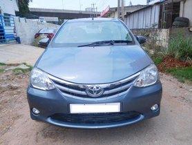Used 2013 Toyota Platinum Etios for sale at low price