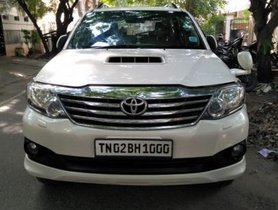 Used 2013 Toyota Fortuner car at low price