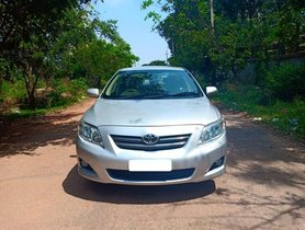 Good as new 2010 Toyota Corolla Altis for sale at low price