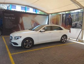 Used 2018 Mercedes Benz E Class for sale