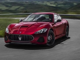 Refreshed Maserati GranTurismo Launched at Rs 2.25 crore