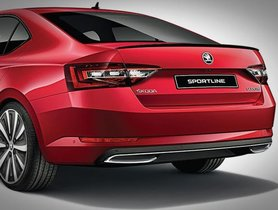 2018 Skoda Superb Sportline Launched In India At Rs 28.99 lakh