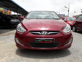 Good as new 2014 Hyundai Verna for sale at low price