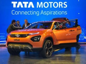 Leaked Image of Production Tata Harrier H5X
