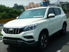 Mahindra Y400 (XUV700) Interior and Exterior Latest Spied Shots