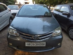 Good as new 2013 Toyota Platinum Etios for sale