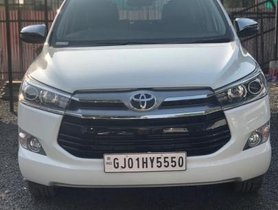 Used Toyota Innova Crysta 2.4 ZX MT 2018 for sale