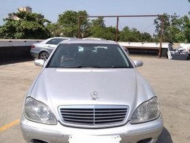 Used 2001 Mercedes Benz S Class car at low price