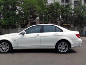 Used Mercedes Benz C Class 2012 car at low price