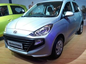 New Hyundai Santro Pre-bookings Cross The 23,500 Mark