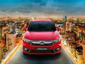 New Honda Amaze Sold 50,000 Units Within 5 Months