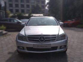 Used Mercedes Benz C Class car 2009 at low price